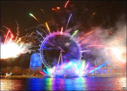London Eye 10th birthday
