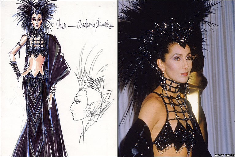 Bbc News In Pictures Bob Mackie S Costume Designs