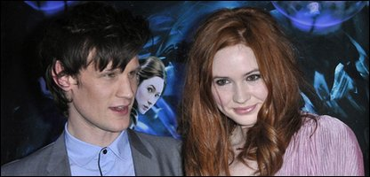 Matt Smith, and his companion Amy Pond