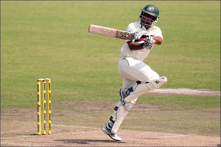 BBC Sport - Cricket - Bangladesh v England day one photos