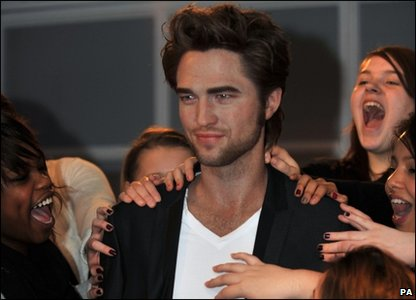 Robert Pattinson's waxwork