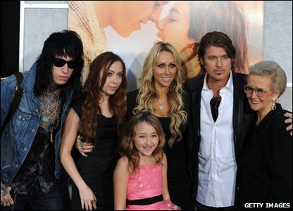 Miley's family