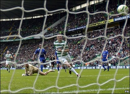 Robbie Keane scored for Celtic