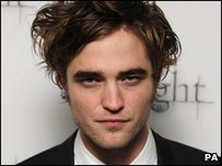 Robert Pattinson is one of the star of the Twilight films