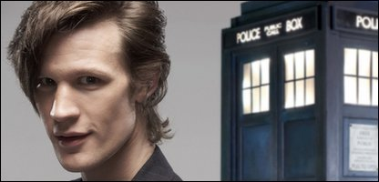 New Doctor Who Matt Smith and The Tardis