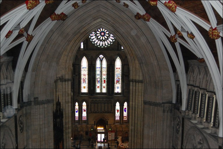 Bbc york minster reveals hidden secrets for Rose window york minster