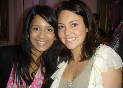 Sonali and Lacey Turner