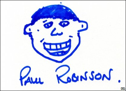 Paul Robinson self portrait