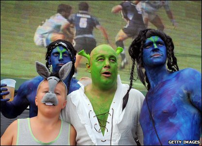 Check out these fans dressed up as characters from Shrek!