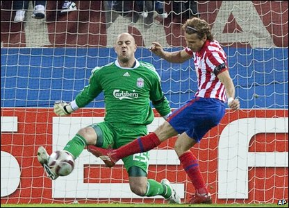 Goal for Atletico Madrid