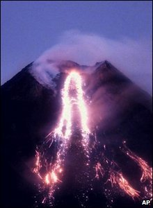 Mount Mayon Volcano in The Philippines
