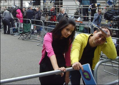 Sonali and Ricky at Downing Street