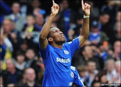 But the best was yet to come. Didier Drogba scored a hat-trick in less than 20 minutes!