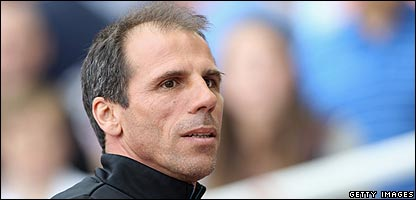 Gianfranco Zola has been sacked as manager of West ham United