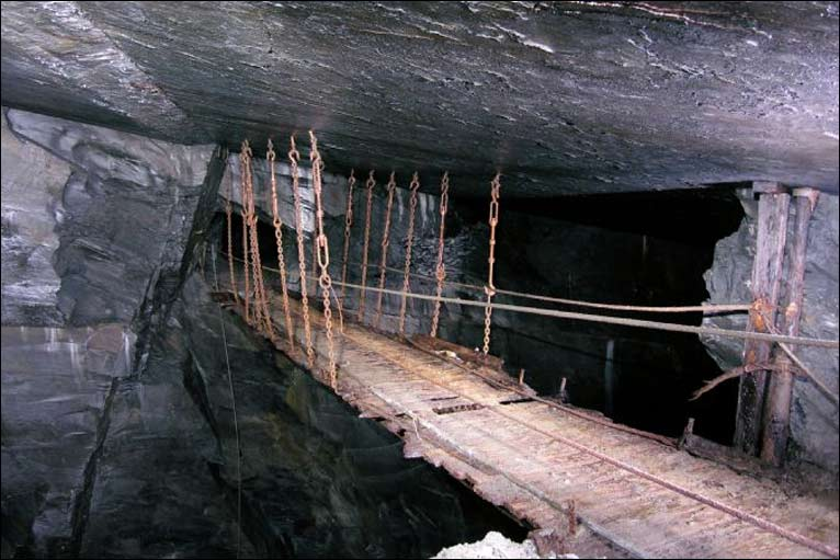 BBC News - In Pictures: A record of disused slate mines in Wales