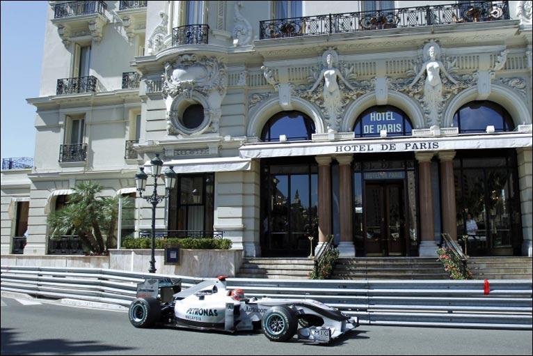 Bbc sport f1 monaco grand prix practice photos for Prix de hotel