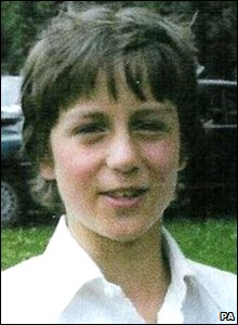 David Cameron as a child