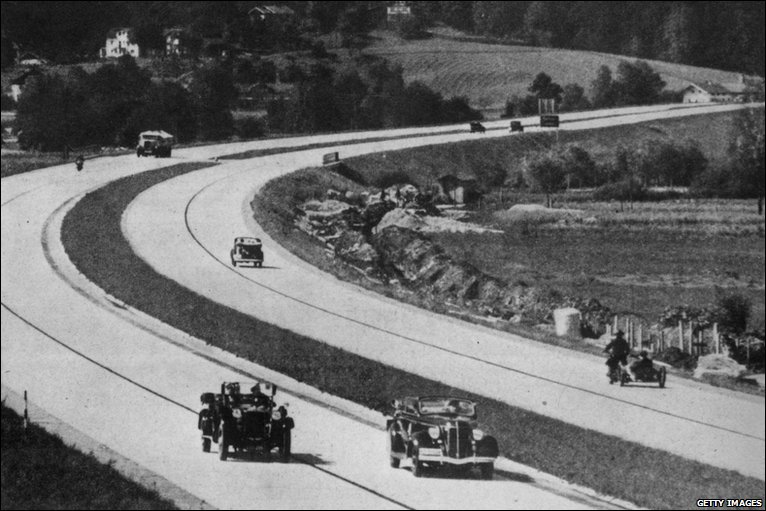 Bbc News In Pictures Hitler S Autobahn Dream