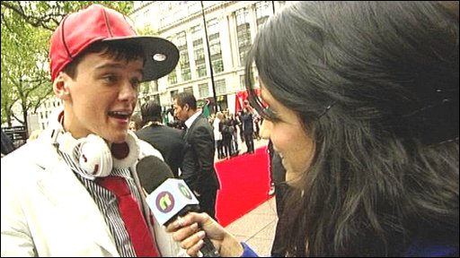 George Sampson at StreetDance premiere