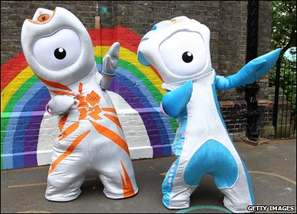 and Paralympic mascots.