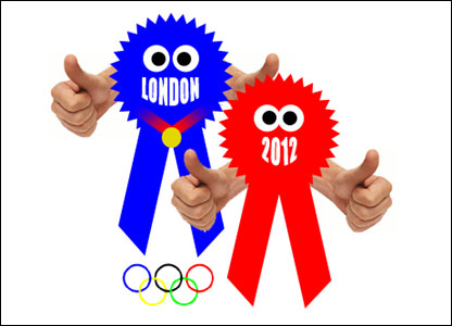 Ricky's Olympic mascot design