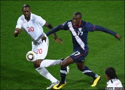 To add to England's worries - Ledley King failed to emerge after half-time, and was replaced by  Jamie Carragher.