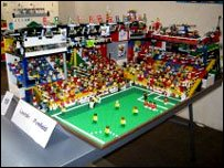 The lego stadium