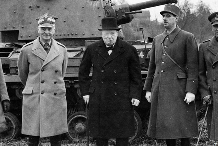 churchill relationship with generals chicken