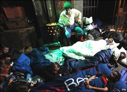 Kids taking part in the Giant Sleepover in the London Dungeon