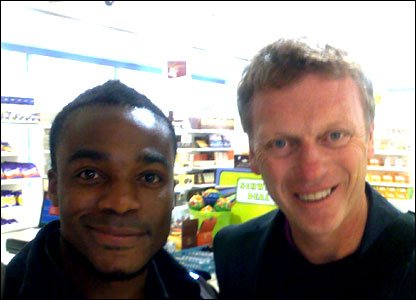 Ore with David Moyes