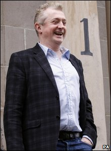 Louis Walsh in Glasgow