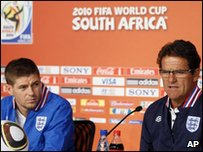 Gerrard and Capello