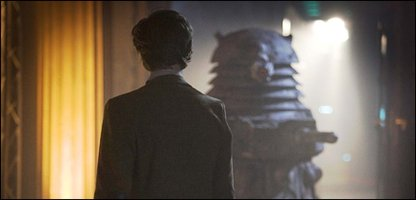 The Doctor meets a Dalek in epsiode 13