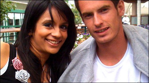 Sonali gets Andy Murray exclusive