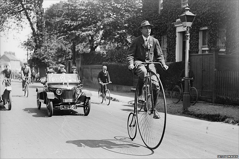Image result for penny farthing bike