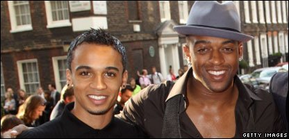 Oritse and Aston JLS