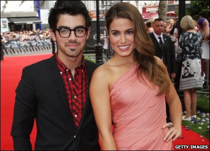Joe Jonas and Nikki Reed