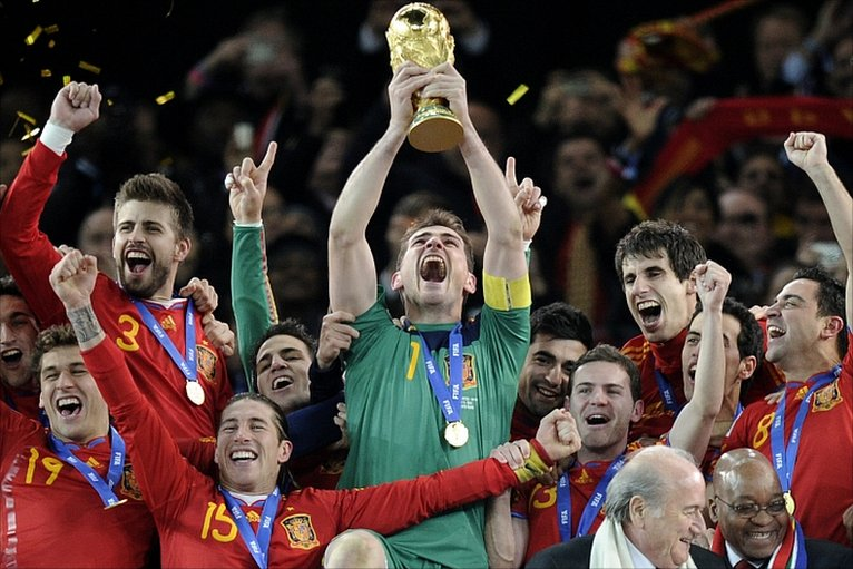 BBC Sport - Football - World Cup 2010 final photos ...