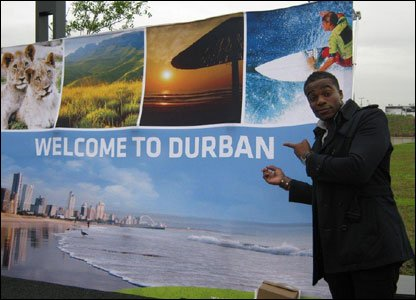 Ore arrives in Durban