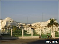 The National Palace in Haiti