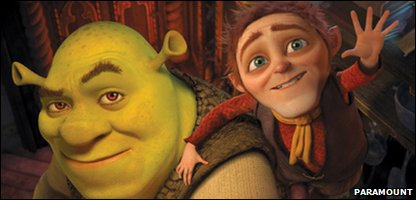 Shrek and Rumplestiltskin