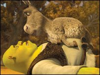 Shrek and Donkey get up to morShrek and Donkey get up to more of their adventures in this film