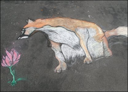 'Fox' by Lily, Bromsgrove (runner-up in 11-14 age group)