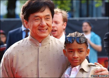 Jackie Chan and Jaden Smith