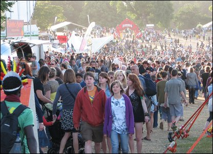Crowds at Latitude