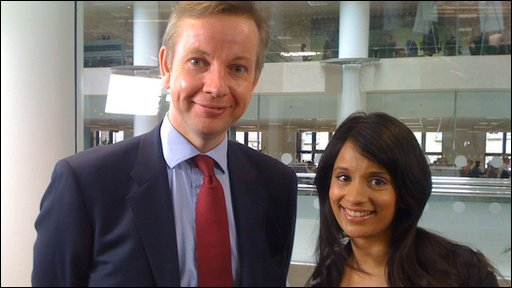 Sonali and Michael Gove