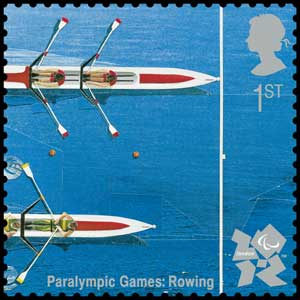 Rowing stamp (Photo: Royal Mail/PA)