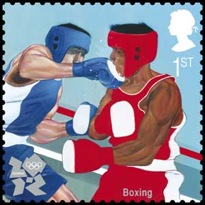 Boxing stamp (Photo: Royal Mail/PA)