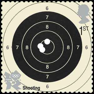 Shooting stamp (Photo: Royal Mail/PA)
