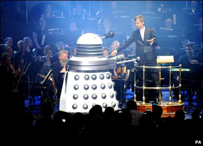 Dalek at the Doctor Who Prom